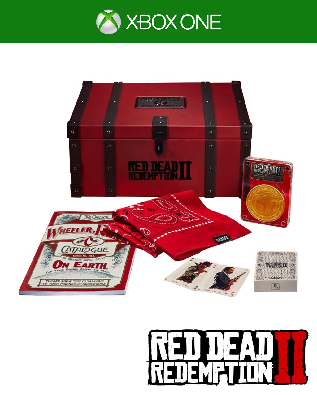 Red Dead Redemption 2 Edycja Kolekconerska z grą (XONE)
