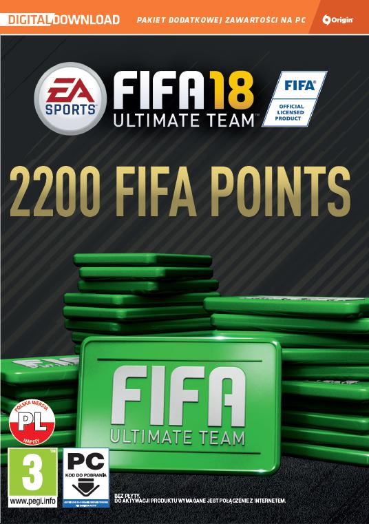 FIFA 18 - Points (PC) DIGITAL 2200 punktów