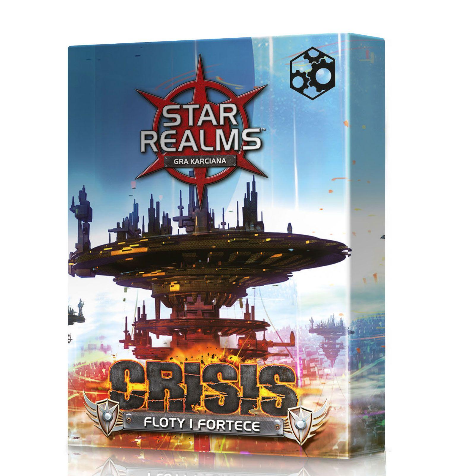 Star Realms: Crisis - Floty i Fortece (Gra Karciana)