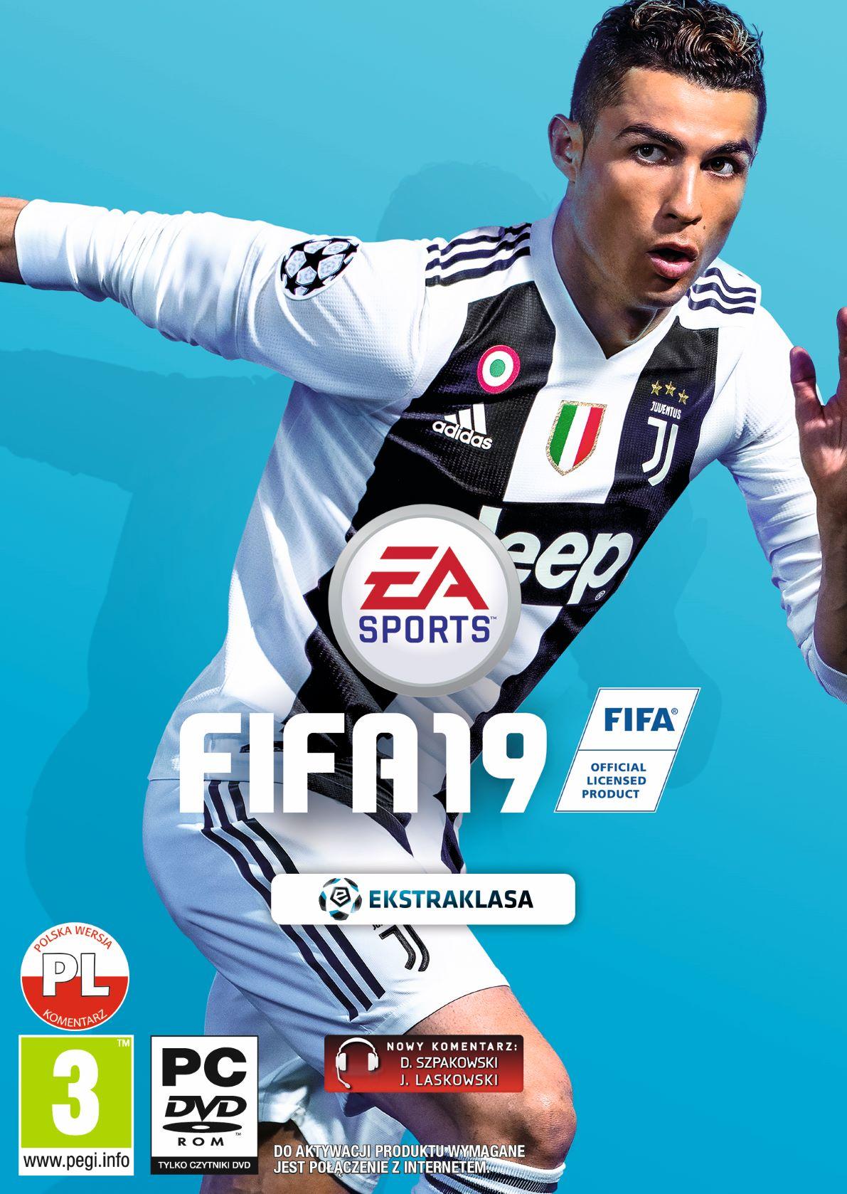 FIFA 19 (PC) PL + 6. PIŁKARZY W TRYBIE FUT