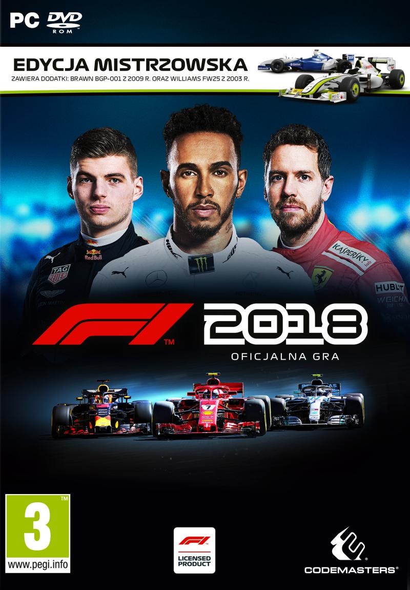 F1 2018 Edycja Mistrzowska (PC) PL