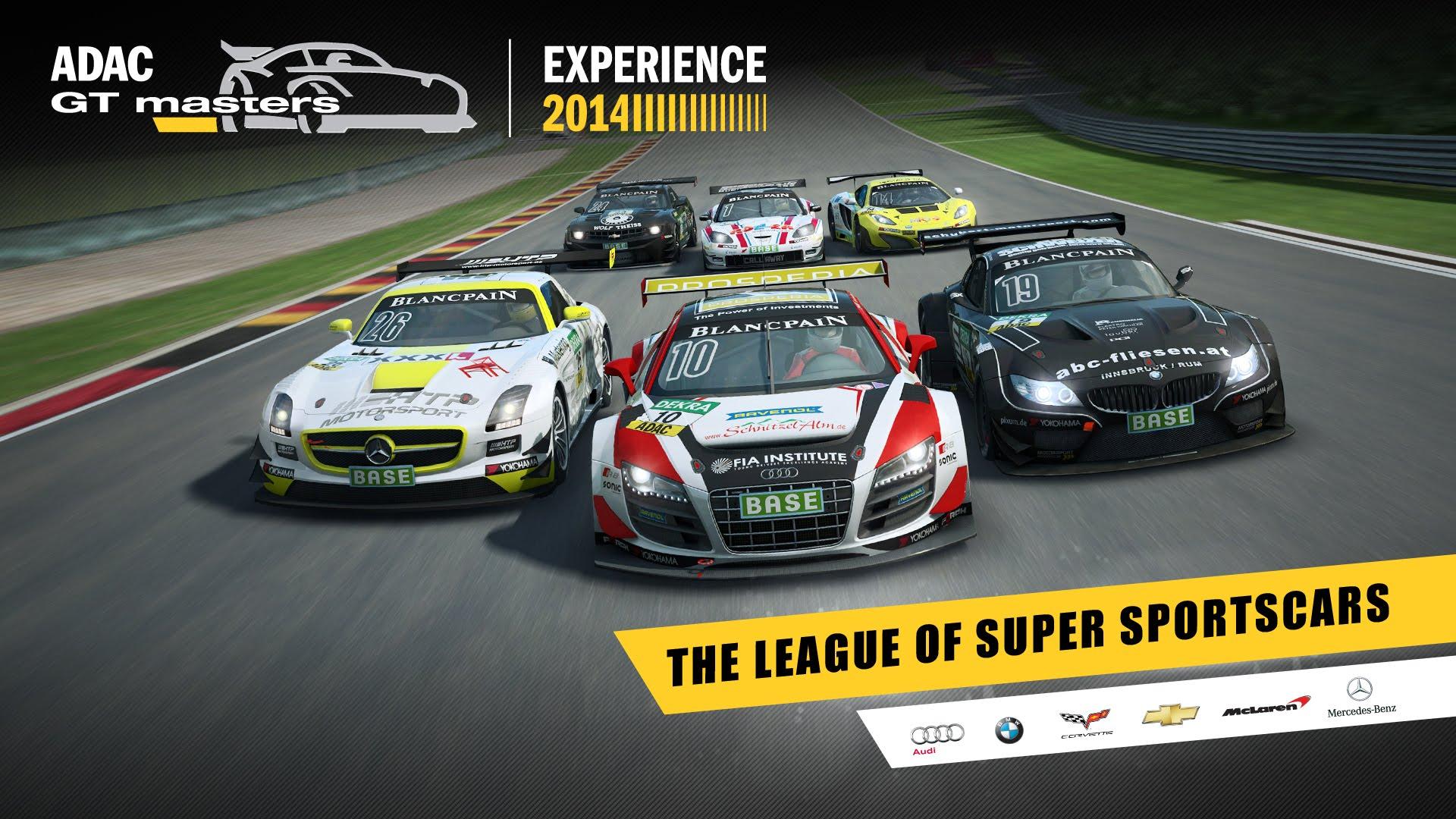 RaceRoom - ADAC GT Masters Experience 2014 (PC) DIGITAL