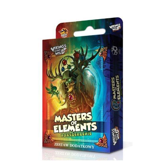 Vikings Gone Wild Master of Elements: Zestaw dodatkowy (Gra Planszowa)
