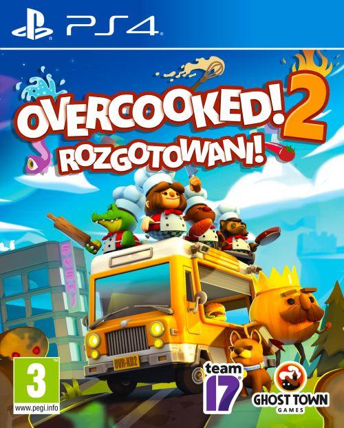 Overcooked 2 Rozgotowani (PS4) PL