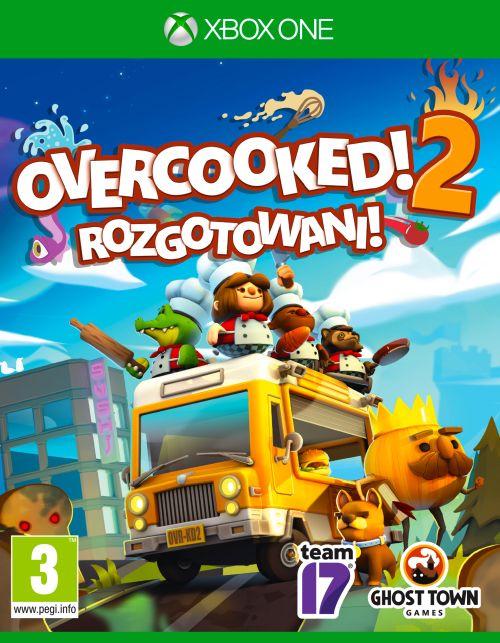 Overcooked 2 Rozgotowani (XOne) PL