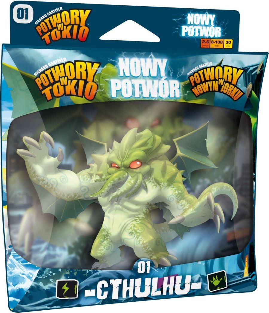 Potwory w Tokio: Nowy potwór - Cthulhu (Gra Planszowa)