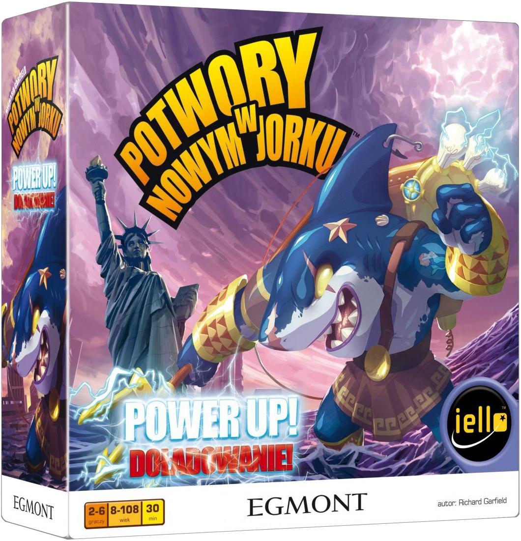 Potwory w Nowym Jorku: Power Up! Doładowanie (Gra Planszowa)