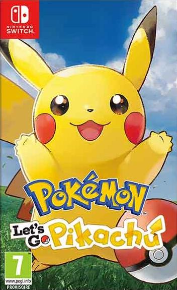 Pokémon Let's Go Pikachu! (Switch)