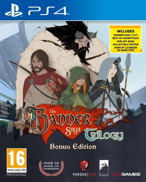 The Banner Saga Trilogy: Bonus Edition (PS4)