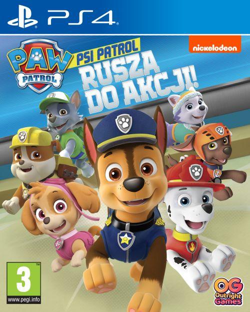 Psi Patrol: Rusza do akcji! (PS4) PL DUBBING