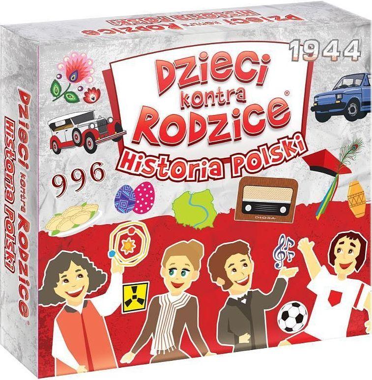 Dzieci kontra rodzice: Historia Polski (Gra Karciana)