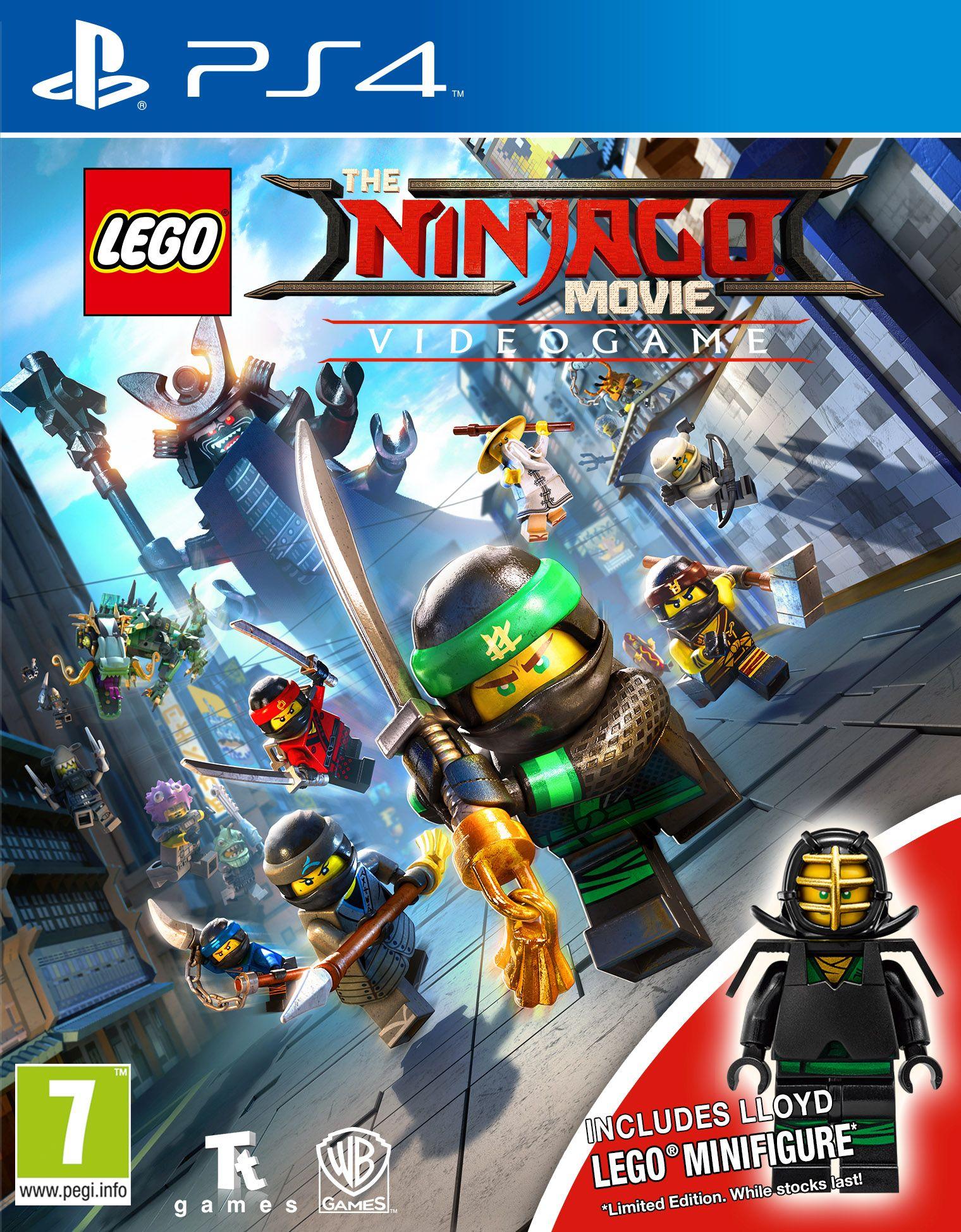 LEGO Ninjago Movie - Gra wideo + minifigurka LLOYD LEGO (PS4) PL - Polski Dubbing + Bonus
