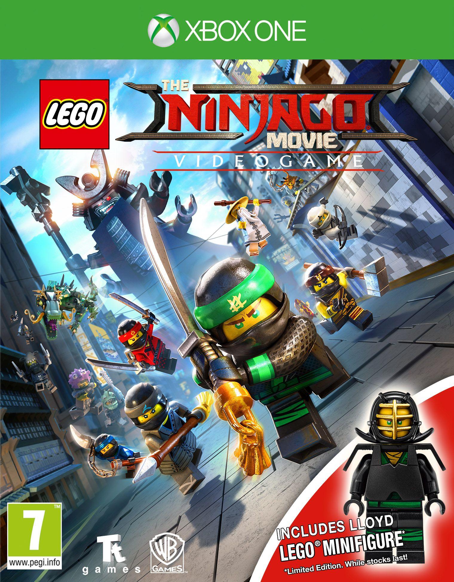 LEGO Ninjago Movie - Gra wideo + minifigurka LLOYD LEGO(XOne) PL - Polski Dubbing + Czapka