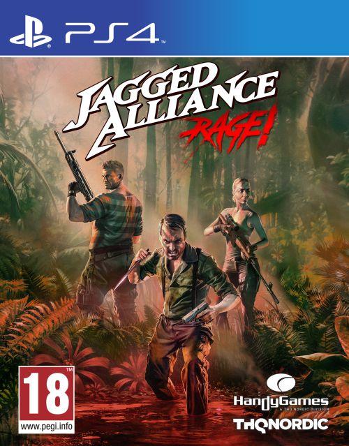 Jagged Alliance Rage (PS4) PL