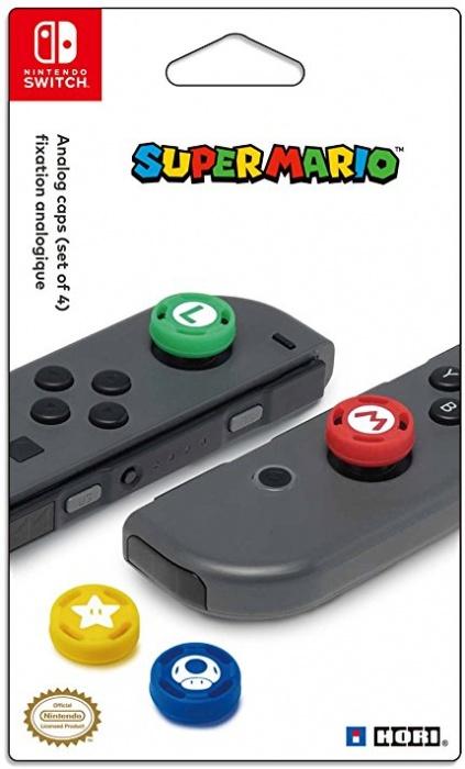Joy-Con Analog Stick Caps - Super Mario (Switch)