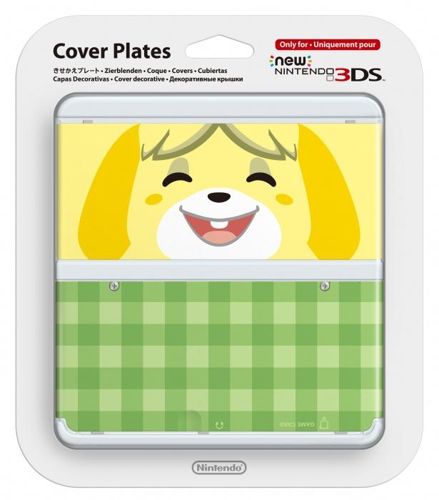 Wymienna nakładka New 3 DS Isabelle (3DS)