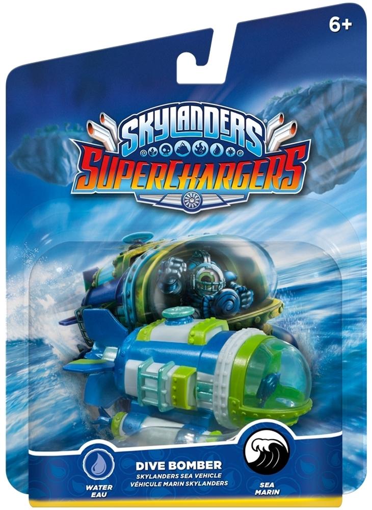Figurka Skylanders Superchargers Pojazd - Dive Bomber