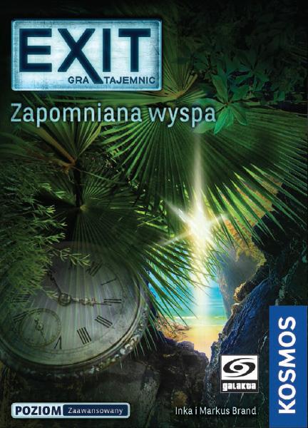 EXIT: Gra tajemnic - Zapomniana wyspa (Gra karciana)