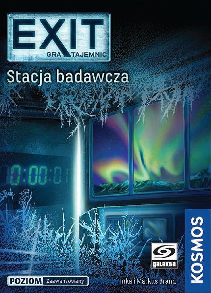 EXIT: Gra tajemnic - Stacja badawcza (Gra karciana)