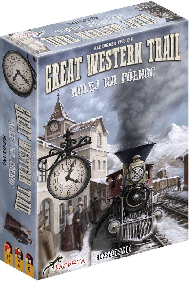 Great Western Trail: Kolej na Północ (Gra Planszowa)
