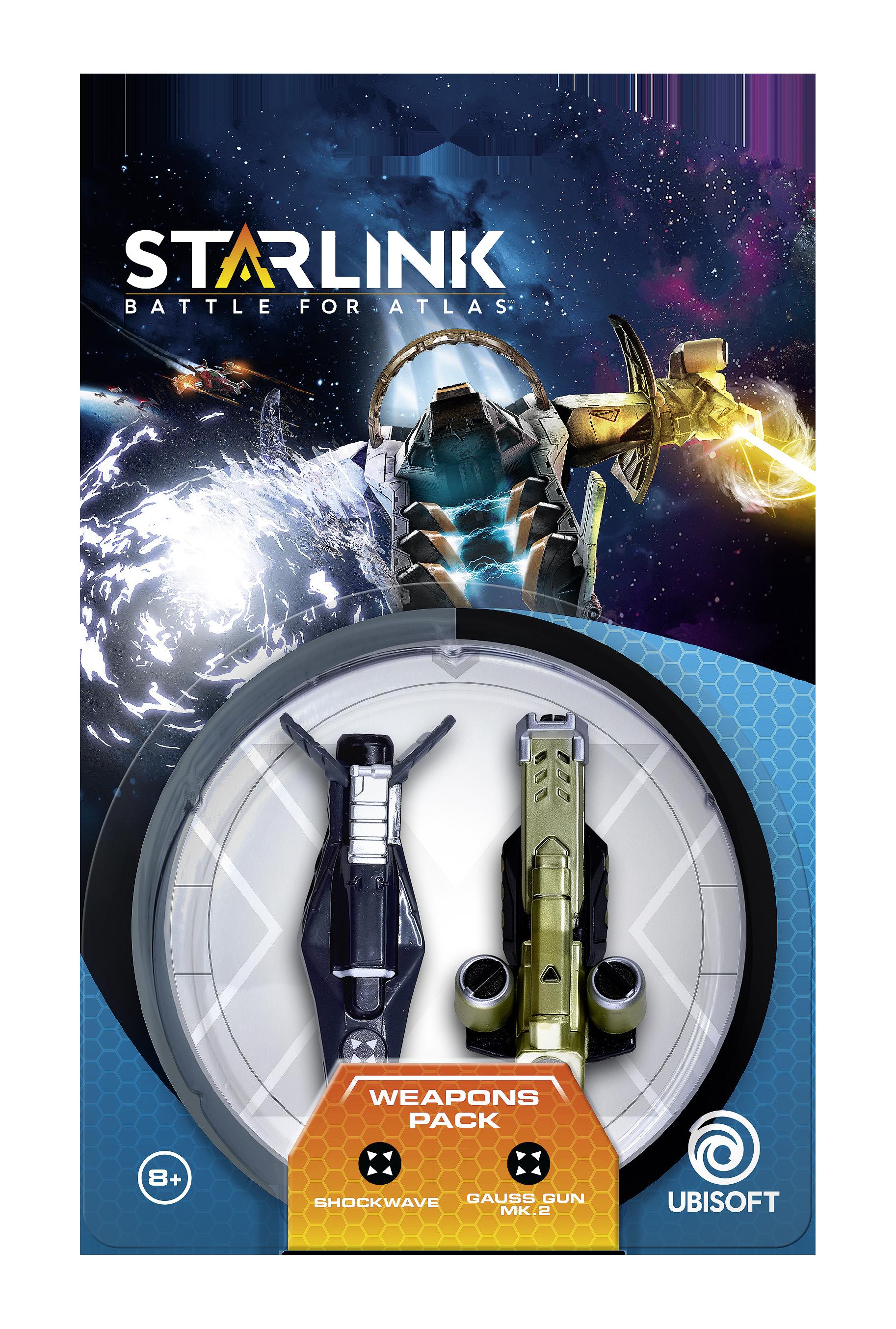 STARLINK Pakiet broni Shockwave i Gauss Gun MK. 2