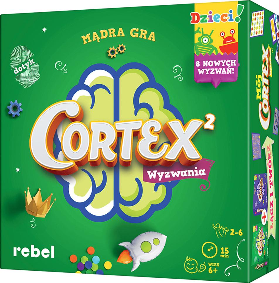 Cortex dla Dzieci 2 (Gra karciane)