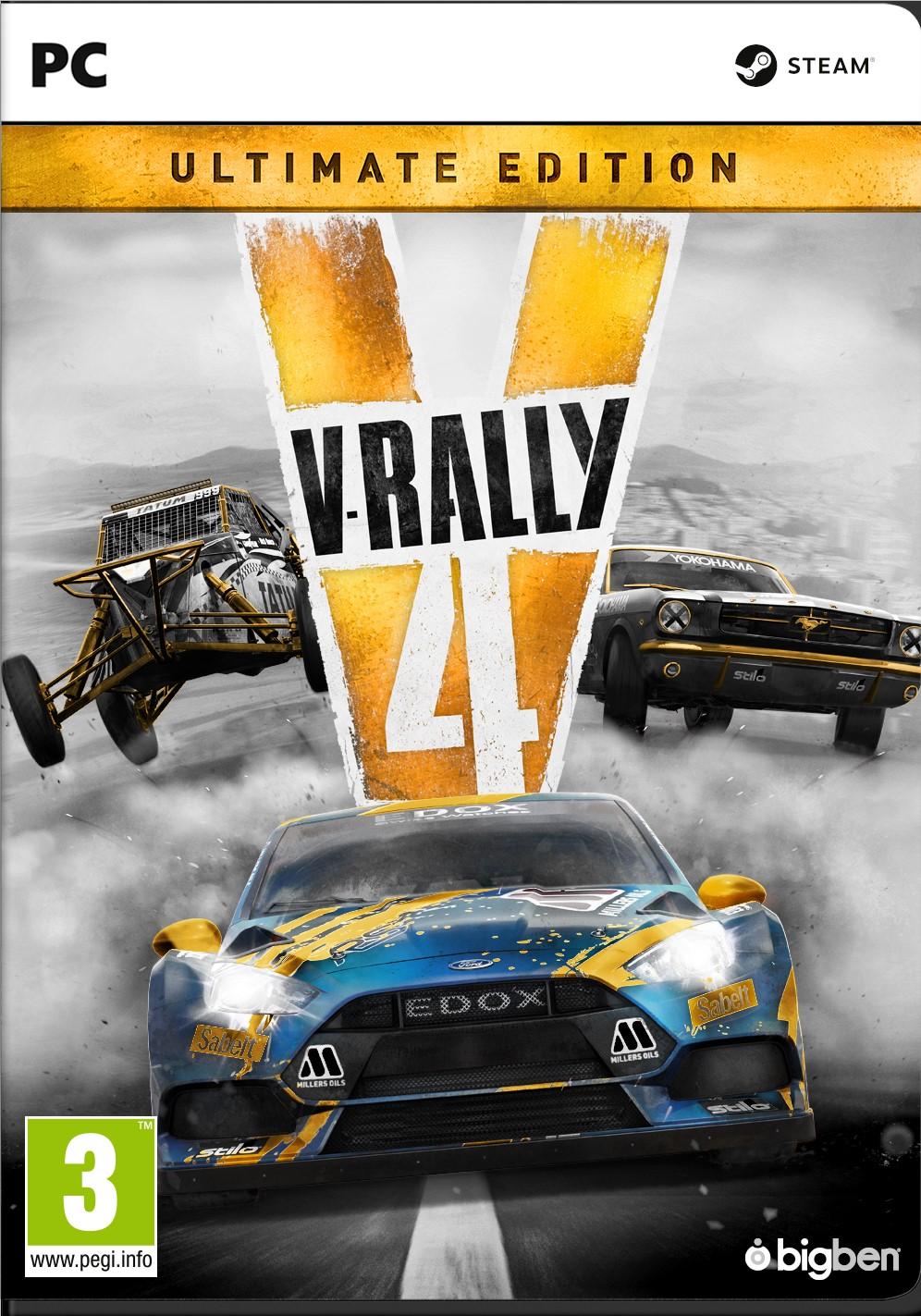 V-rally 4 Ultimate Edition (PC) DIGITÁLIS + BÓNUSZ