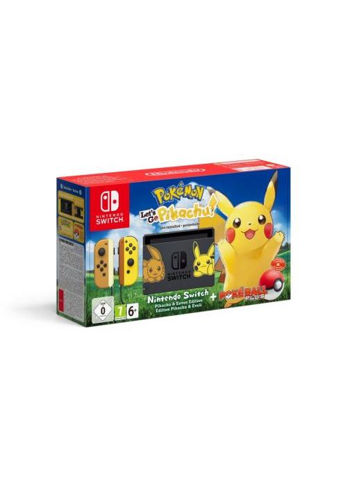 Konsola Nintendo Switch Let's go Pikachu + Poke Ball (Switch)