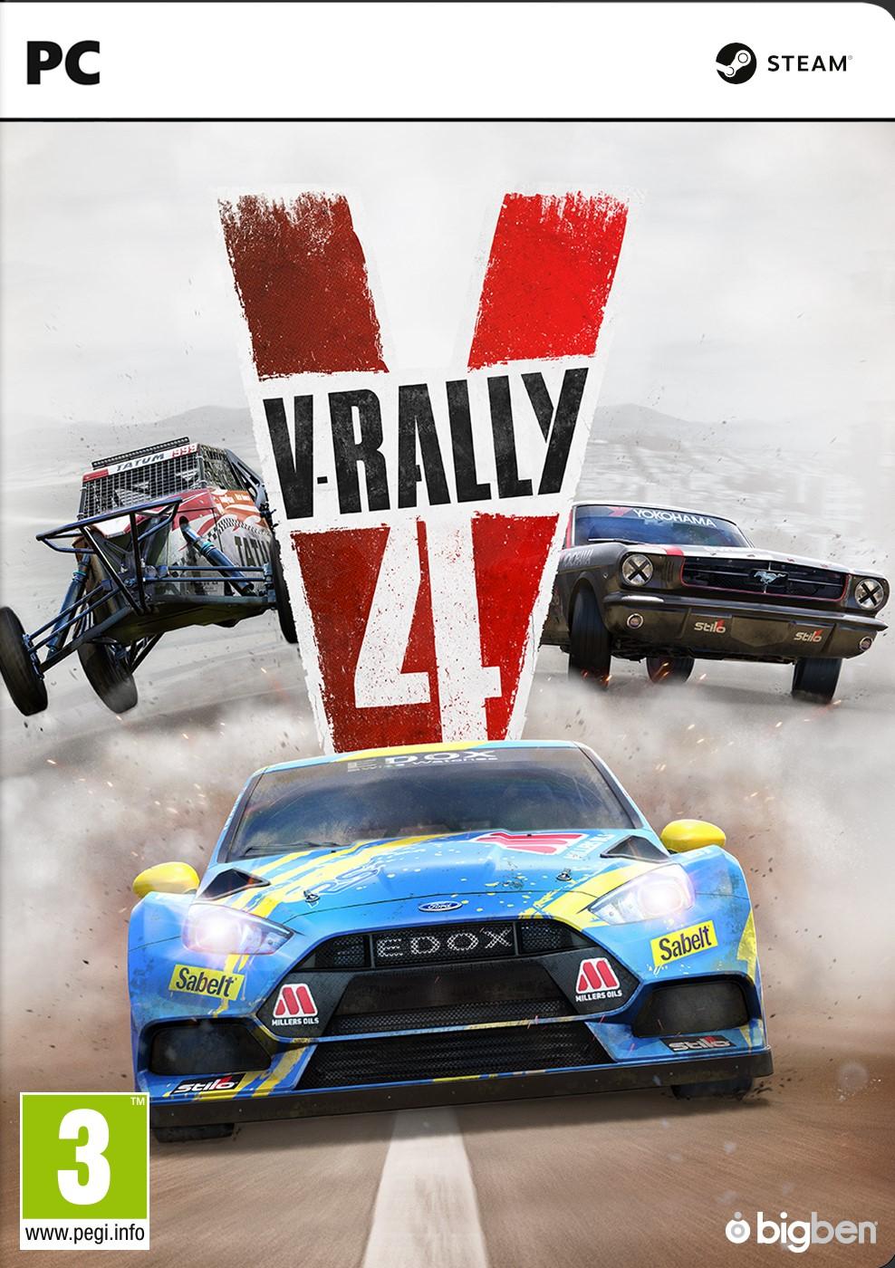 V-rally 4 (PC) DIGITÁLIS + BÓNUSZ
