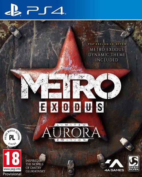 Metro Exodus Aurora Edition (PS4) PL + eBOOK METRO 2035 + PLAKAT!