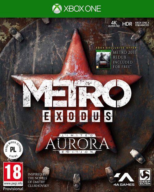 Metro Exodus Aurora Edition (XOne) PL + eBOOK METRO 2035 + PLAKAT!