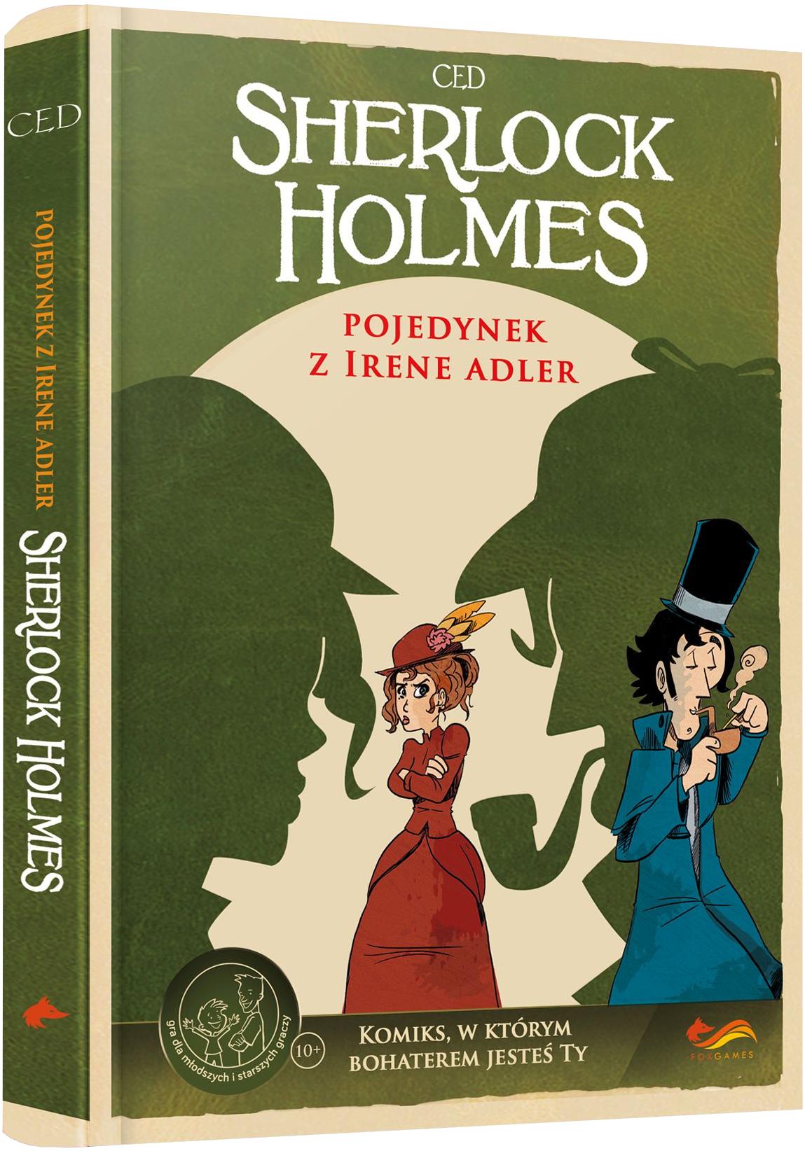 Sherlock Holmes - Pojedynek z Irene Adler (Gra paragrafowa )