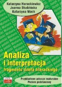 Analiza i interpretacja fragmentu dzeła literackiego