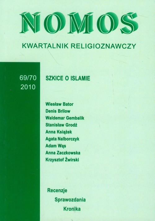 Kwartalnik religioznawczy 69/70 2010