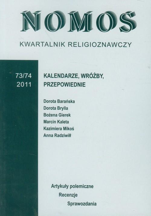 Kwartalnik religioznawczy 73/74