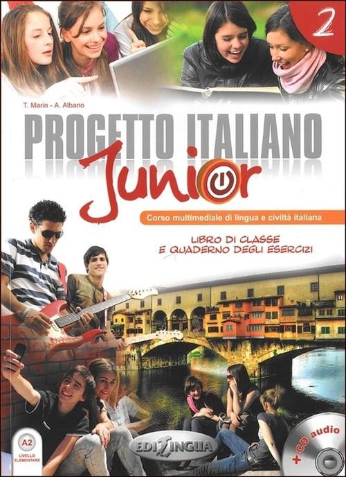 Progetto Italiano Junior 2 Podręcznik + CD