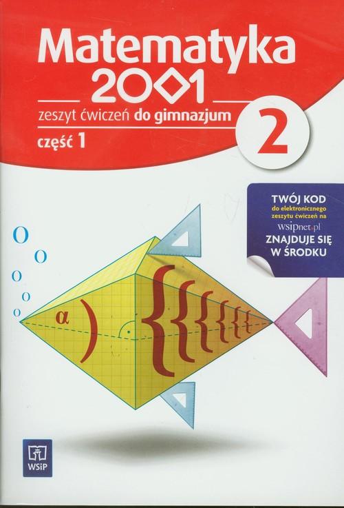 Matematyka 2001 2 Zeszyt ćwiczeń część 1