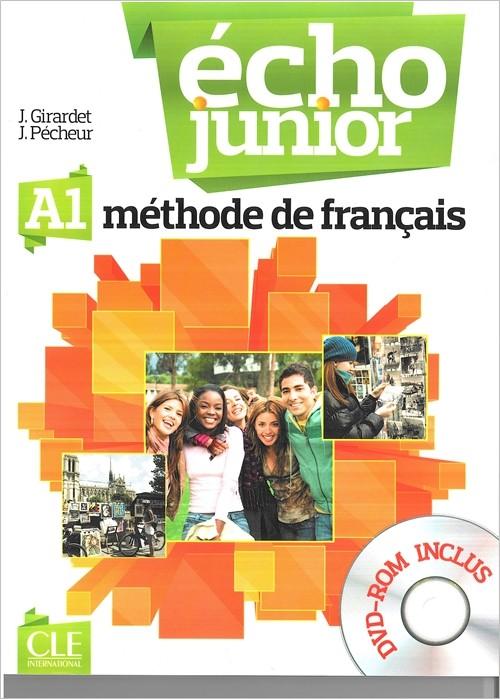 Echo Junior A1 podręcznik + DVD