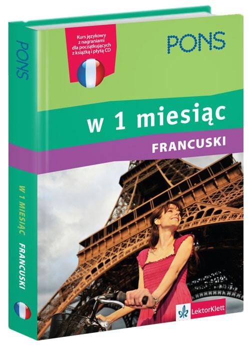 Francuski w 1 miesiąc z płytą CD