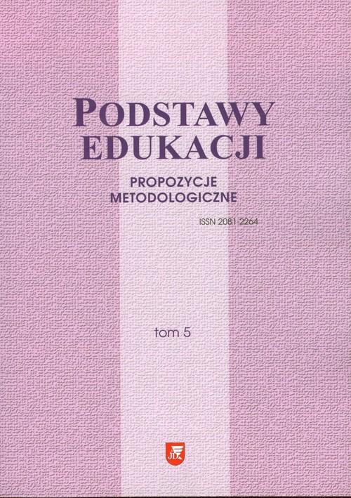 Podstawy edukacji Tom 5