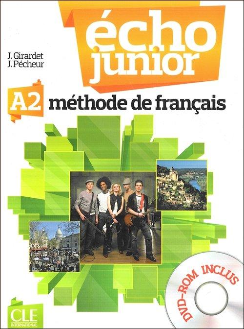 Echo Junior A2 Podręcznik z płytą DVD ROM