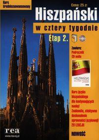 Hiszpański w cztery tygodnie Etap 2 z płytą CD