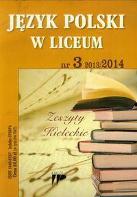 Język Polski w Liceum numer 3 2013/2014