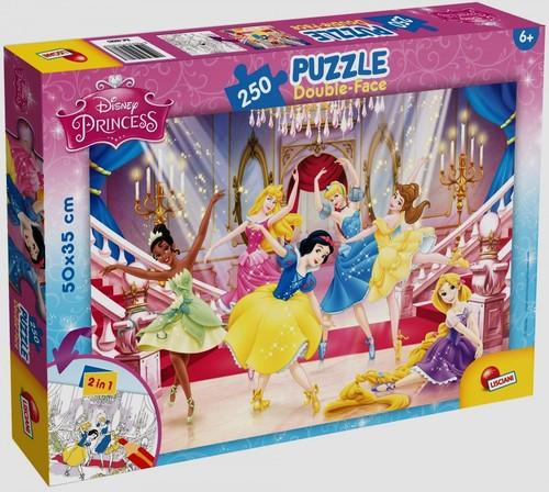 Puzzle dwustronne 250 Księżniczki