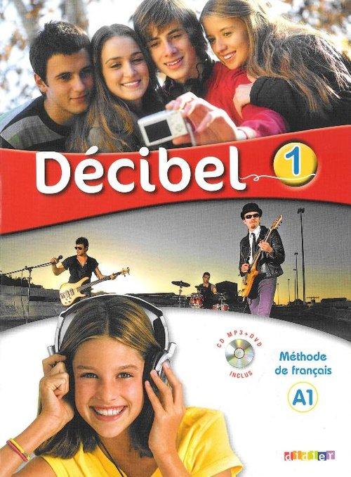 Decibel 1 Podręcznik + CDmp3 + DVD