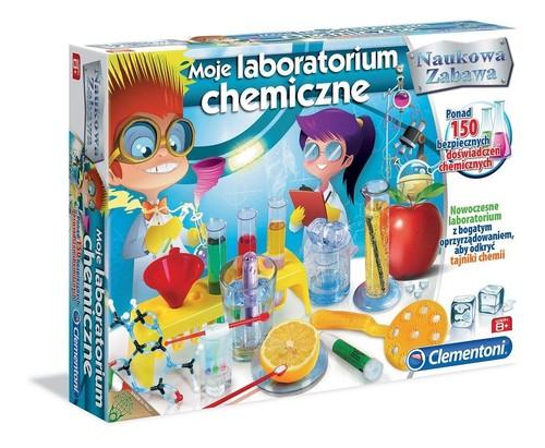Moje laboratorium chemiczne