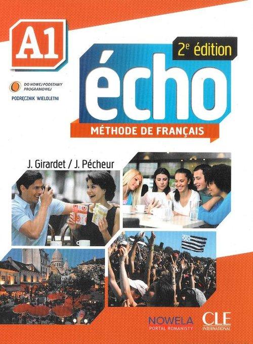Echo A1 Podręcznik z płytą CD wersja wieloletnia