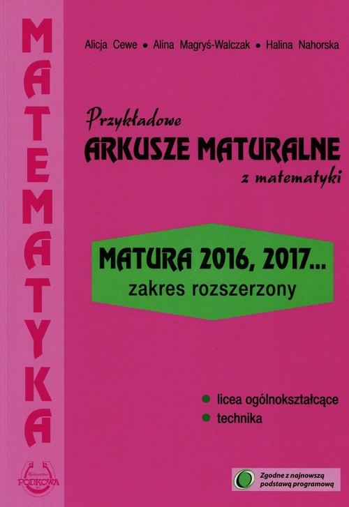 Przykładowe arkusze maturalne z matematyki Zakres rozszerzony
