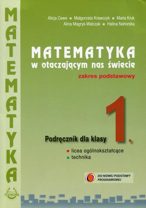 Matematyka w otaczającym nas świecie 1 Podręcznik Zakres podstawowy