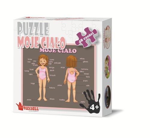 Puzzle Moje ciało 48